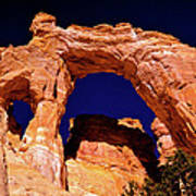 Grosvenor Arch Sunset Kodachrome Basin Poster