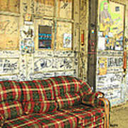 Front Porch - Ground Zero Blues Club Clarksdale Ms Poster