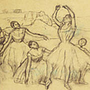 Group Of Dancers Poster