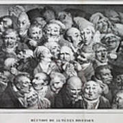 Group Of Thirty-five Heads Poster
