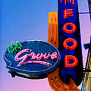 Grove Fine Food Poster by Gail Lawnicki