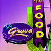 Grove Fine Food Var 2 Poster by Gail Lawnicki