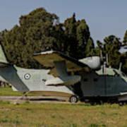Grumman Hu-16 Albatros Of The Hellenic Poster