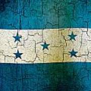 Grunge Honduras Flag Poster