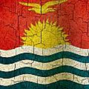 Grunge Kiribati Flag Poster