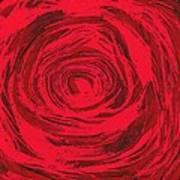 Grunge Rose Poster