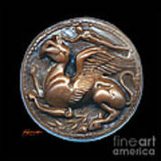 Gryphon Or Griffin Poster by Patricia Howitt