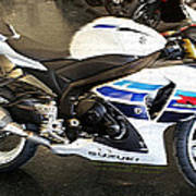 Gsxr1000 In Motion Poster