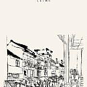 Guanqian Street In Suzhou, Jiangsu Poster