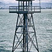 Guard Tower Alcatraz Poster