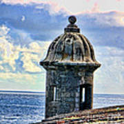 Guard Tower At El Morro Poster