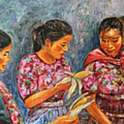 Guatemala Impression IIi Poster