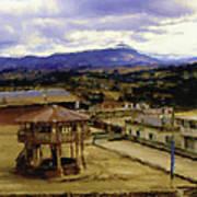 Guatemalan Roof Top Four Poster