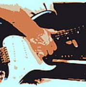 Guitar And Man Poster