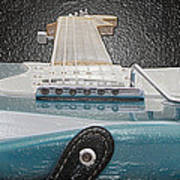 Guitar Art Poster