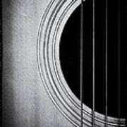 Guitar Film Noir Poster