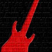 Guitar Players 1 Poster