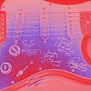 Guitar Signed  Poster