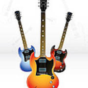 Guitar Style Poster