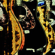 Guitars Poster