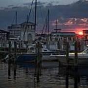 Gulfport Sunset Poster