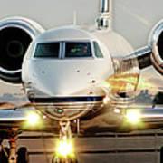 Gulfstream G550 Poster