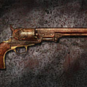 Gun - Colt Model 1851 - 36 Caliber Revolver Poster