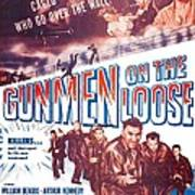 Gunmen On The Loose, Us Poster, William Poster