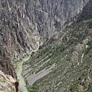 Gunnison River At The Base Of Black Canyon Of The Gunnison Poster