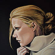 Gwyneth Paltrow Painting Poster