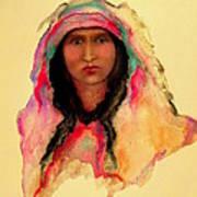 Gypsy Girl Poster by Johanna Elik