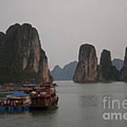 Ha Long Bay   Vietnam   #0521 Poster