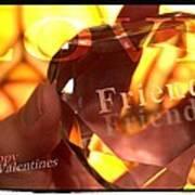 Haapy Valentine's My Friend Poster
