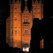 Hadleigh Deanery By Night Poster