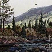 Hagerman Peak Poster by W  Scott Fenton