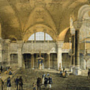 Haghia Sophia, Plate 9 The New Imperial Poster by Gaspard Fossati
