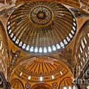 Hagia Sofia Interior 02 Poster