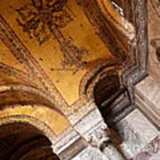 Hagia Sophia Arch Mosaics Poster