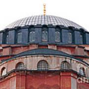 Hagia Sophia Curves 02 Poster