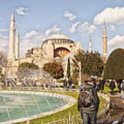 Hagia Sophia Editorial Poster by Antony McAulay