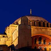 Hagia Sophia Evening Poster