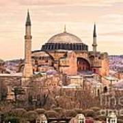 Hagia Sophia Mosque - Istanbul Poster