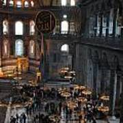 Hagia Sophia Panorama Poster