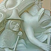 Haida Sculpture Closeup In Canadian Museum Of Civilization In Gatineau-quebec-canada Poster