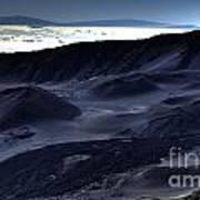 Haleakala Crater Hawaii Poster