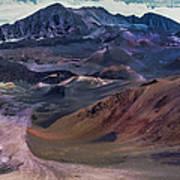Haleakala Summit Crater Poster