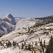 Half Dome And The High Sierra Poster