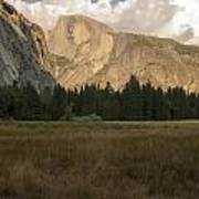 Half Dome And The Yosemite Valley Poster
