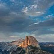Half Dome Evening Poster