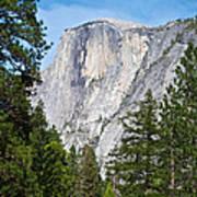 Half Dome In Spring In Yosemite Np-2013 Poster